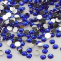 Jewel Embellishments, Resin, Dark blue, Faceted Discs, 3mm x 3mm x 1mm, 300  pieces, [ZSS030]